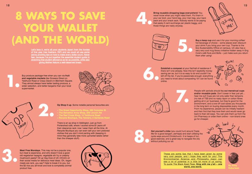 8 Ways to Save Your Wallet (and the World) Magazine Article