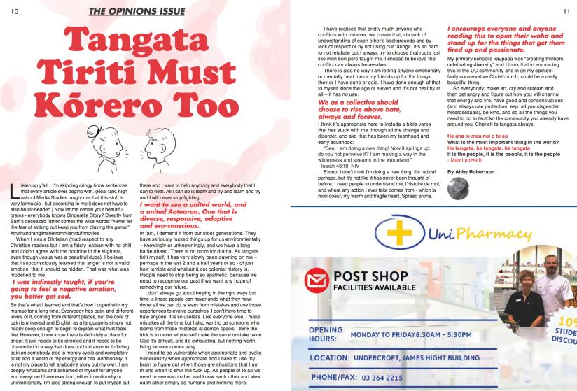 Tangata Tiriti Must Kōrero Too Magazine Article